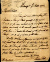 Dr. Thomas Parke to H. Marshall, October 9, 1792